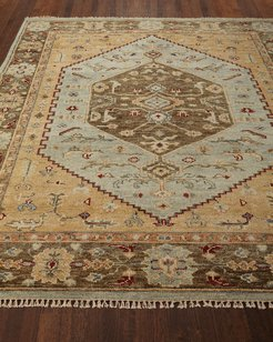 Darlington Hand-Knotted Rug, 9' x 12'