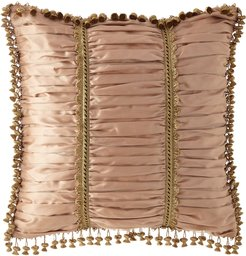 Midnight Garden Ruched European Sham