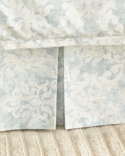 Florencia Faded Damask 3-Panel Dust Skirt