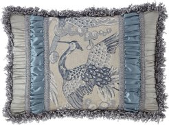 Birds of a Feather Pieced Oblong Pillow