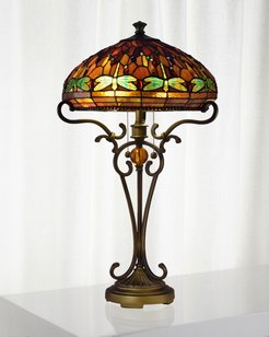Dragonfly Tiffany Table Lamp
