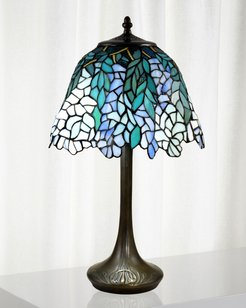 Pelle Tiffany Table Lamp
