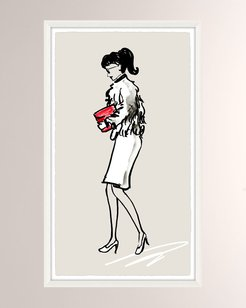 OOTD Fancy II Giclee On Paper Wall Art With Frame