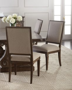 Woodlands Upholstered Side Chairs, Set of 2