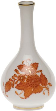Chinese Boutique Rust Small Bud Vase