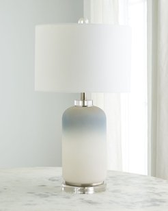 Ombre Glass & Crystal Table Lamp