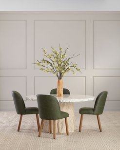 Ann Marie Leather Dining Chair