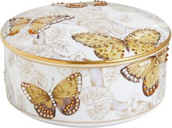 Butterfly Bejeweled Jewelry Box