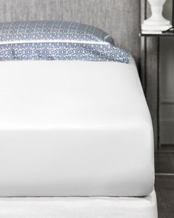 Corinthia White Queen Fitted Sheet