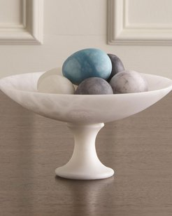 Alabaster Compote - Small
