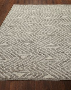 Twilight Hand-Knotted Rug, 9' x 12'