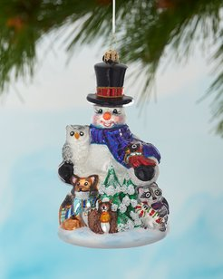 Friends Of The Forest Christmas Ornament