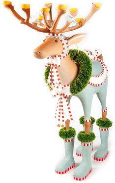 Dash Away Dasher Reindeer Display Figure