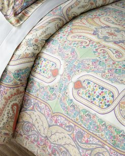 Lourmarin Quilted King Duvet Set