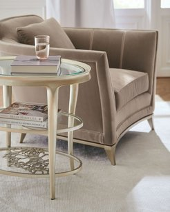 Wild Flower Accent Table