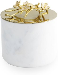 Cherry Blossom Large Luxe Marble Candle