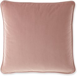"Abloom Velvet Pillow, 20""Sq."