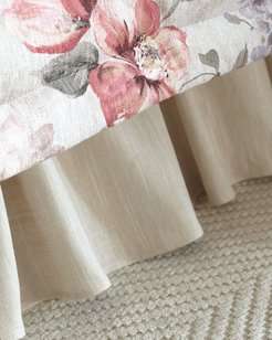 Blissful Ruffled King Bed Skirt