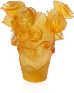 Yellow Small Rose Passion Vase