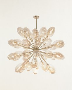 Echo 42-Light Glass Globe Chandelier