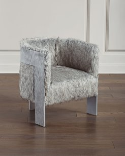 Cosway Faux-Fur Chair