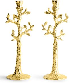 Tree of Life Candle Holders, Set of 2