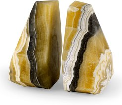 Sonora Onyx Bookends, Set of 2