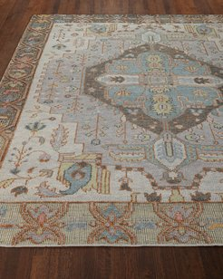 Riviera Hand-Knotted Rug, 6' x 9'