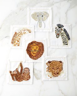Out of Africa Cocktail Napkins, Set of 6