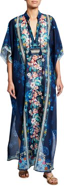 Plus Size Annia Long Kaftan
