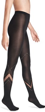 Avery Crystal Embellished Tights