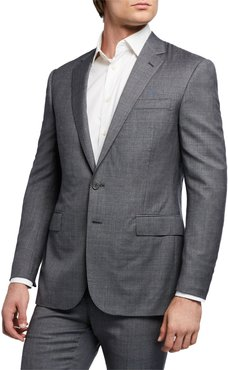 Anthony Two-Piece Sharkskin Suit