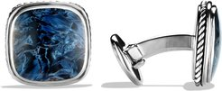 Exotic Stone Cuff Links with Pietersite