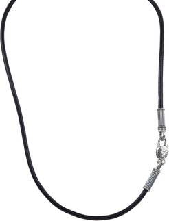 "20"" Men's Leather Cord Necklace"