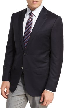Milano Micronsphere Wool Two-Button Sport Coat