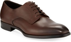 Calf Leather Derby Shoes