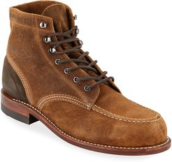 1000 Mile Rugged Waxy Suede Boots