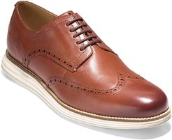 Original Grand Leather Wing-Tip Oxford, Brown