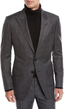 O'Connor Overcheck Two-Piece Wool Suit