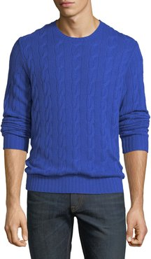 Provence Cable-Knit Cashmere Sweater