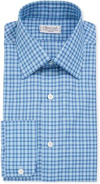 Tattersall Long-Sleeve Dress Shirt