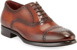 Madison Leather Brogue Oxfords