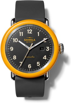 The No. 2 Detrola 43mm Silicone Watch