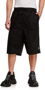 Cross Tech-Cotton Sweat Shorts