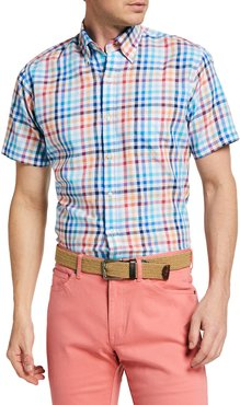 Galleon Multicolor Check Sport Shirt