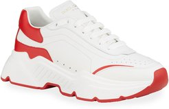 Day Master Two-Tone Chunky Runner Sneakers