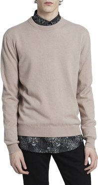 Solid Cashmere Crew Sweater
