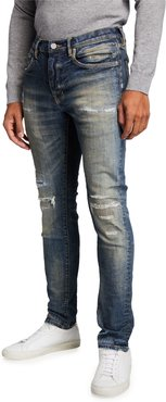 Dirty Rip/Repair Stretch Jeans