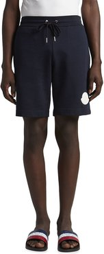 Sweat Shorts with Logo Patch