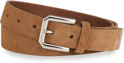 Solid Suede Belt